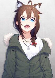 Rating: Safe Score: 30 Tags: animal_ears kantai_collection nekomimi ochiai_miyabi shigure_(kancolle) User: RyuZU
