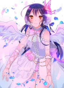 Rating: Safe Score: 34 Tags: dress love_live! satoimo_chika sonoda_umi wings User: Mr_GT