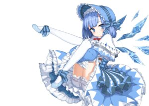 Rating: Safe Score: 37 Tags: bloomers cirno dress heels lolita_fashion sugar_sound touhou wings User: Mr_GT
