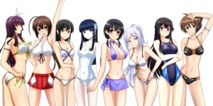 Rating: Questionable Score: 71 Tags: aila_jyrkiainen ashisu_sahoto ass bikini buddy_complex cleavage crossover erect_nipples fairy_tail gundam gundam_build_fighters jindai_komaki kagura_mikazuchi kenken mahouka_koukou_no_rettousei mangaka-san_to_assistant-san mazinkaiser_skl musubi saki sekirei shiba_miyuki swimsuits underboob yumihara_hina yuuki_tsubasa User: 椎名深夏