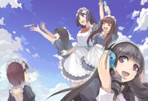 Rating: Safe Score: 13 Tags: headphones maid x-boy User: blooregardo