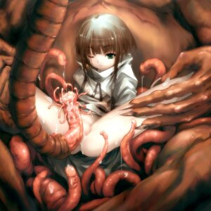 Rating: Explicit Score: 46 Tags: censored hitomaru monster nopan shrine tentacles User: blooregardo