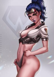 Rating: Questionable Score: 23 Tags: cleavage dandon_fuga no_bra overwatch pantsu widowmaker User: NotRadioactiveHonest