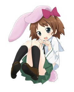 Rating: Safe Score: 18 Tags: abe_kanari animal_ears bunny_ears girls_und_panzer sakaguchi_karina seifuku User: Radioactive