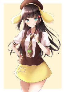 Rating: Safe Score: 13 Tags: animal_ears kurosawa_dia love_live!_sunshine!! seifuku sin_(sin52y) User: Arsy