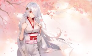 Rating: Safe Score: 38 Tags: breast_hold girls_frontline kimono kishiyo User: charunetra