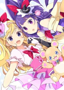 Rating: Safe Score: 28 Tags: asahina_mirai dress izayoi_riko mahou_girls_precure! mofurun_(precure) pretty_cure see_through wara User: nphuongsun93