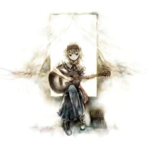 Rating: Safe Score: 28 Tags: alice_margatroid guitar kei touhou User: blooregardo