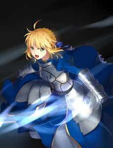 Rating: Safe Score: 16 Tags: armor dress fate/stay_night lightofheaven saber sword User: fairyren