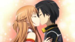 Rating: Safe Score: 19 Tags: asuna_(sword_art_online) game_cg kirito sword_art_online tagme User: RyuZU