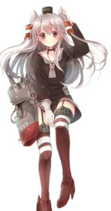 Rating: Safe Score: 64 Tags: amatsukaze_(kancolle) kantai_collection rensouhou-chan serino_itsuki stockings thighhighs User: tbchyu001