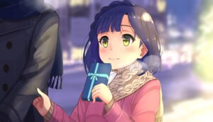 Rating: Safe Score: 38 Tags: akame_(akamiru) nanao_yuriko sweater the_idolm@ster the_idolm@ster_million_live valentine User: Mr_GT