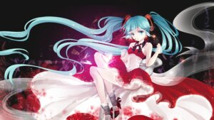 Rating: Safe Score: 47 Tags: dress hatsune_miku heels vocaloid yotsuba_(vidaliu00) User: charunetra