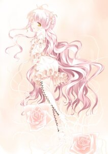 Rating: Safe Score: 30 Tags: eyepatch kirakishou lolita_fashion rozen_maiden suzume_inui thighhighs User: ddns001