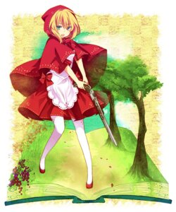 Rating: Safe Score: 30 Tags: aruya gun little_red_riding_hood_(character) red_riding_hood User: Radioactive