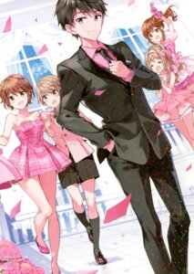 Rating: Safe Score: 35 Tags: business_suit cleavage dress futaba_tae heels makabe_masamune masamune-kun_no_revenge shuri_kojuurou stitchme tiv User: Twinsenzw