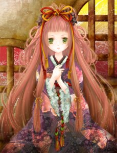 Rating: Safe Score: 25 Tags: kimono lolita_fashion tama_(pixi-to-ko-yo) wa_lolita User: Radioactive