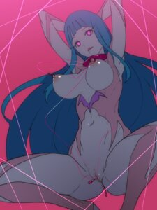 Rating: Explicit Score: 64 Tags: anal_beads ban bodysuit breasts censored cleavage me!me!me! meme_(me!me!me!) nipples no_bra nopan pussy User: demonbane1349