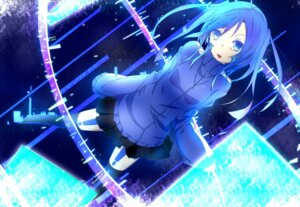 Rating: Safe Score: 17 Tags: enomoto_takane headphones mekakucity_actors tattoo thighhighs User: Poubelle