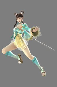 Rating: Safe Score: 10 Tags: asian_clothes cg see_through soul_calibur soul_calibur_v sword transparent_png weapon yan_leixia User: Yokaiou