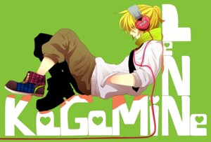 Rating: Safe Score: 14 Tags: headphones kagamine_len male nagashino vocaloid User: charunetra