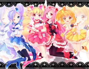 Rating: Safe Score: 12 Tags: aono_miki fresh_pretty_cure! higashi_setsuna momozono_love pantyhose pretty_cure thighhighs uduki-shi yamabuki_inori User: Nekotsúh