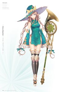 Rating: Questionable Score: 55 Tags: chinadress digital_version elf pointy_ears rinna_mayfield shining_resonance thighhighs tony_taka weapon witch User: Twinsenzw