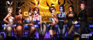 Rating: Safe Score: 52 Tags: animal_ears ass bunny_ears bunny_girl cleavage d.va fishnets liang_xing megane mei_(overwatch) mercy_(overwatch) no_bra nopan overwatch pantyhose pharah symmetra_(overwatch) tail thighhighs tracer widowmaker zarya User: Mr_GT