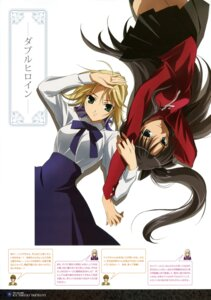 Rating: Safe Score: 34 Tags: fate/stay_night fujii_maki saber toosaka_rin User: Aurelia