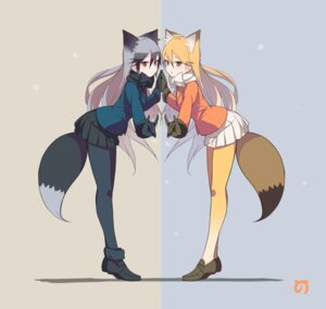 Rating: Safe Score: 59 Tags: animal_ears ezo_red_fox famy_siraso kemono_friends pantyhose silver_fox tail User: nphuongsun93