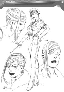 Rating: Safe Score: 5 Tags: character_design monochrome naruse_ryouko range_murata shangri-la sketch User: Share