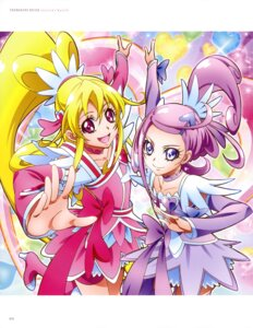 Rating: Questionable Score: 4 Tags: bike_shorts dokidoki!_precure dress heels pretty_cure thighhighs User: drop
