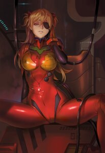Rating: Questionable Score: 55 Tags: bodysuit cameltoe dantewontdie erect_nipples eyepatch neon_genesis_evangelion souryuu_asuka_langley User: NotRadioactiveHonest