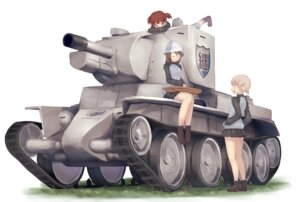 Rating: Safe Score: 26 Tags: aki_(girls_und_panzer) girls_und_panzer mecha metindone mika_(girls_und_panzer) mikko_(girls_und_panzer) uniform User: nphuongsun93