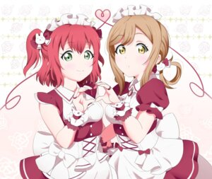 Rating: Safe Score: 21 Tags: kunikida_hanamaru kurosawa_ruby love_live!_sunshine!! maid zeitakunaimo_mushi User: saemonnokami