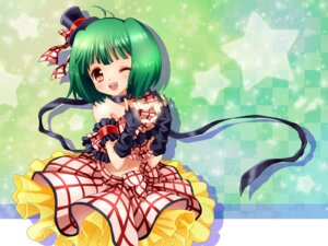 Rating: Safe Score: 24 Tags: dress macross macross_frontier mauve ranka_lee User: fireattack