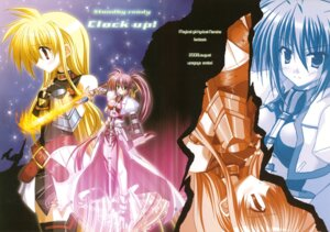 Rating: Safe Score: 6 Tags: armor endori fate_testarossa mahou_shoujo_lyrical_nanoha mahou_shoujo_lyrical_nanoha_a's signum sword thighhighs User: fireattack