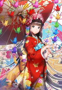 Rating: Safe Score: 34 Tags: kimono umbrella y.i._(lave2217) User: charunetra