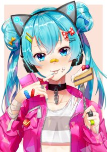 Rating: Safe Score: 36 Tags: bandages bandaid hatsune_miku headphones tagme vocaloid User: BattlequeenYume