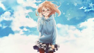 Rating: Safe Score: 19 Tags: kuriyama_mirai kyoukai_no_kanata megane pantyhose skirt_lift tagme wallpaper User: merrymorgan
