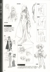 Rating: Safe Score: 7 Tags: baseson character_design koihime_musou kouchuu monochrome riri sketch User: admin2