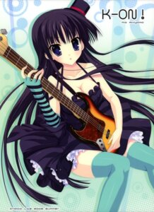 Rating: Safe Score: 37 Tags: akiyama_mio cleavage dress guitar indico_lite k-on! mitha thighhighs User: WtfCakes