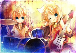 Rating: Safe Score: 14 Tags: inaresi kagamine_len kagamine_rin vocaloid User: hobbito