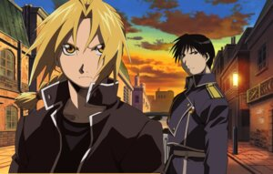 Rating: Safe Score: 10 Tags: edward_elric fullmetal_alchemist male oguri_hiroko roy_mustang User: charunetra