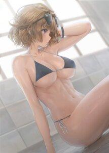 Rating: Questionable Score: 70 Tags: bikini erect_nipples girls_frontline grizzly_mkv_(girls_frontline) megane swimsuits wet yohan1754 User: yanis