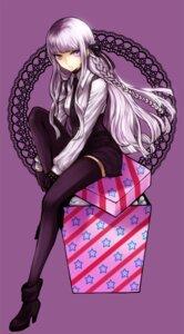 Rating: Safe Score: 60 Tags: dangan-ronpa heels kirigiri_kyouko nanamura thighhighs User: Nekotsúh