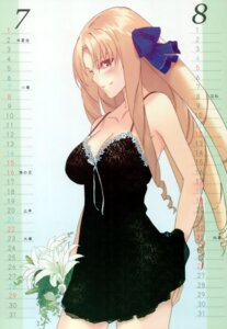 Rating: Safe Score: 46 Tags: calendar cleavage fate/stay_night lingerie luviagelita_edelfelt morii_shizuki type-moon User: Buger