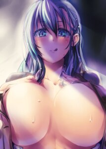Rating: Questionable Score: 58 Tags: cleavage kantai_collection kousaka_yami no_bra open_shirt suzuya_(kancolle) User: Mr_GT