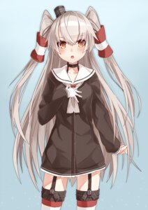 Rating: Safe Score: 50 Tags: amatsukaze_(kancolle) kantai_collection takanashie thighhighs User: kei0345