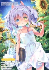 Rating: Safe Score: 27 Tags: amanagi_seiji animal_ears dress heterochromia see_through skirt_lift summer_dress User: kiyoe